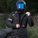 Merlin Neptune Waterproof Jacket - Black - Urban Nomads Motorcycle Clothing