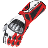 Held Phantom 2 Leather Sports Gloves - Red/White - Urban Nomads Motorcycle Clothing