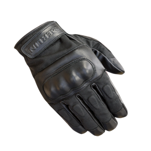 Merlin Ranton Hipora Waterproof Gloves - Black - Urban Nomads Motorcycle Clothing