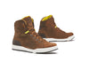 Forma Swift Dry Urban Waterproof Boots - Brown/Fluo - Urban Nomads Motorcycle Clothing