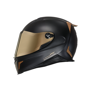 Nexx X.R2 Gold Edition Carbon Fibre Helmet - Black/Gold - Urban Nomads Motorcycle Clothing