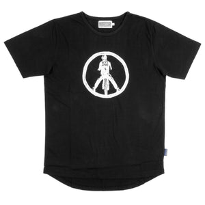 KYTONE 'Peace' T Shirt - Black - Urban Nomads Motorcycle Clothing