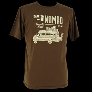 KYTONE 'Dare to be Nomad' T Shirt - Brown - Urban Nomads Motorcycle Clothing