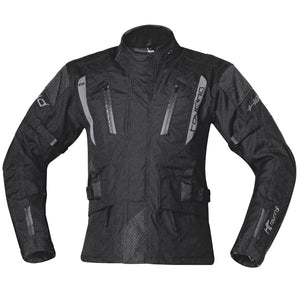 Held 4-Touring (4 Season) Textile Jacket - Black - Urban Nomads Motorcycle Clothing