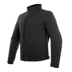 Dainese Urban D-Dry Laminated Waterproof Jacket - Black - Urban Nomads Motorcycle Clothing