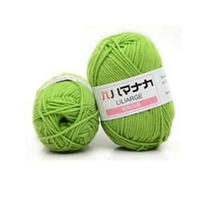 Milk Cotton Yarn Comfortable Wool Blended Yarn Apparel Sewing Yarn Hand Knitting Scarf Hat Yarn crochet knitting yarn