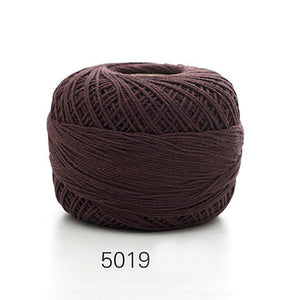 50g/ball Soft 3 ply 100% Cotton 5# Lace Yarn