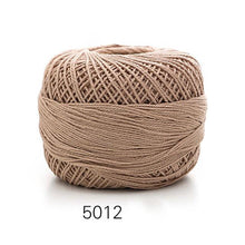 Load image into Gallery viewer, 50g/ball Soft 3 ply 100% Cotton 5# Lace Yarn