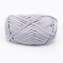 Load image into Gallery viewer, 100g Soft Cotton T Shirt Yarn for Crochet Hook Knitting Blanket Carpet Handbag Cloth Yarn for Hand Thick Knitting Chunky Yarn