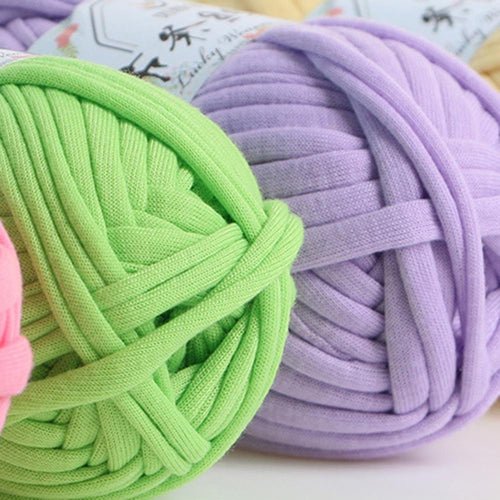 32m Solid Color Soft Crochet Yarn