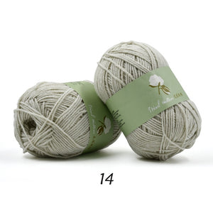 yarn for knitting 100% cotton skin-friendly hand knitting yarn lana trapillo para tejer crochet thread 30/lot wholesale