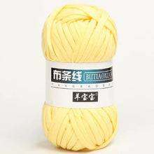 Load image into Gallery viewer, 100g/Lot Thick Yarn Soft Colored Cloth Yarn for Hand Knitting Woven Bag Carpet DIY Hand-knitted Material