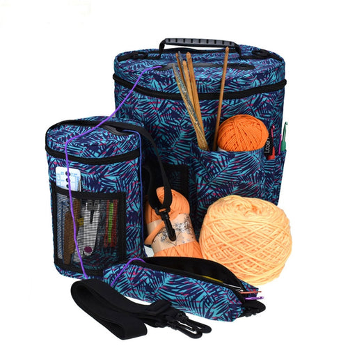Yarn Organizer Crochet Tote Bags Crochet Knitting Accessory  Empty Yarn Storage Bag Sweater Needle Wool Sewing Tools Accessory