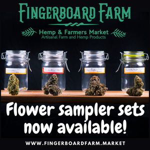 Hemp Flower Sampler Set - Fingerboard Farm Market