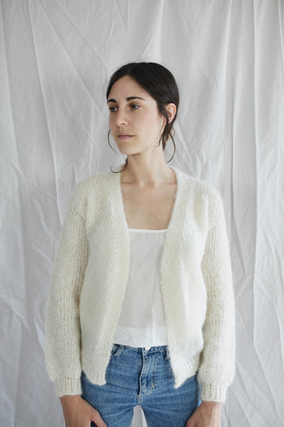 HAND KNITTED PIECE - LOUNA cardigan