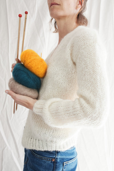 Knitting Kit - LOUNA Cardigan