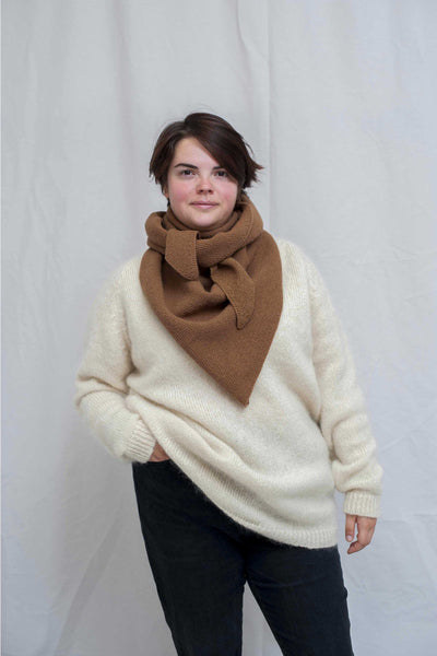 ALICE Camel Wrap Scarf / NEW