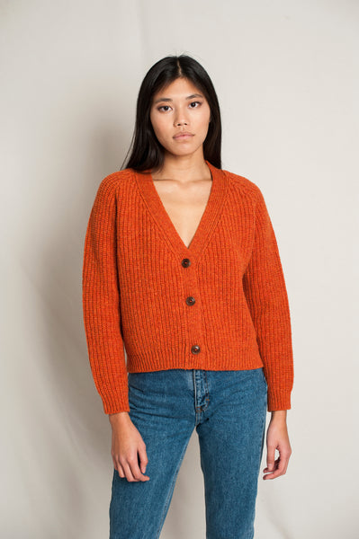 L'Envers - Anna Spanish Wool Cardigan - Non Mulesed Certificated - Color Cooper - Preview Picture