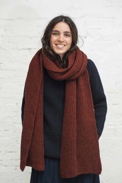 CAMILLE Red Scarf