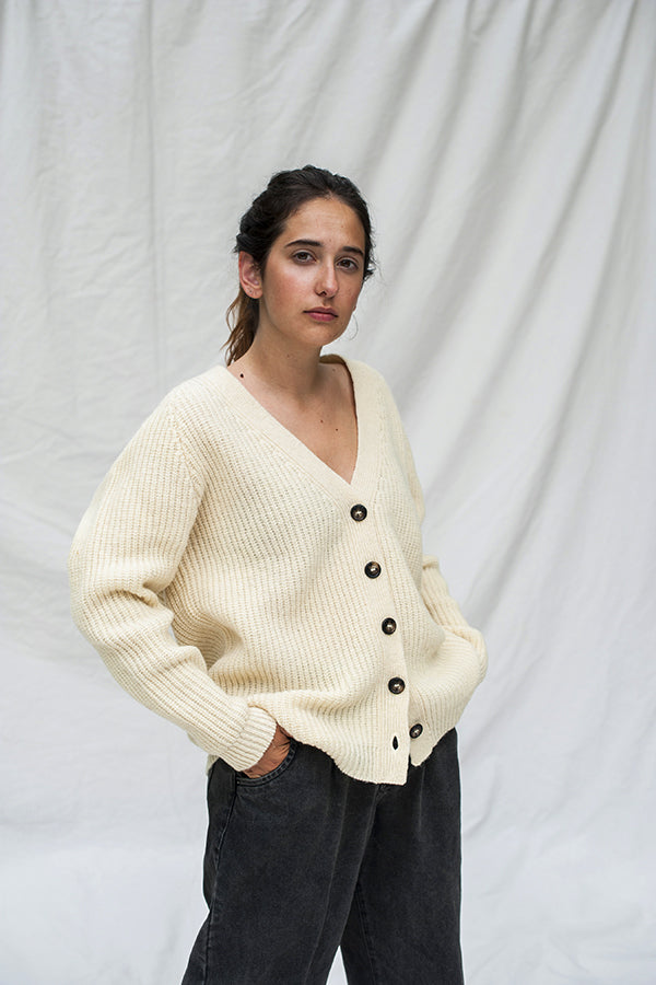 CLAUDE Wool Cardigan