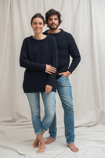 GABRIEL Navy Blue Sweater