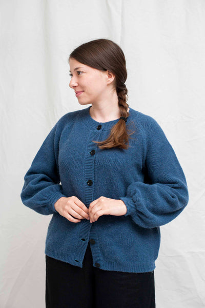 GABY Light blue cardigan