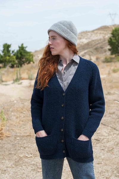 JOANNA Navy Blue Cardigan