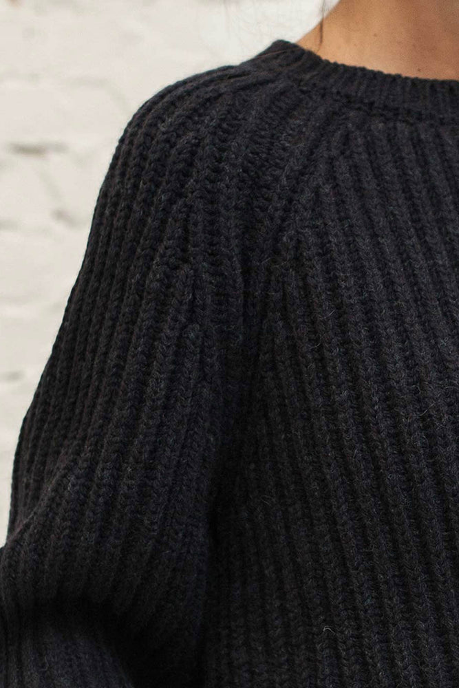 JOHNNY Navy blue sweater