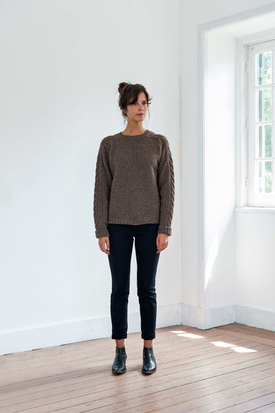 JANE & SERGE Brown Sweater