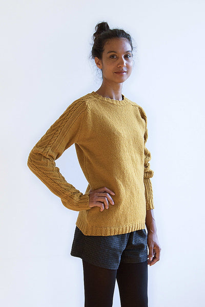 JANE & SERGE Mustard Sweater