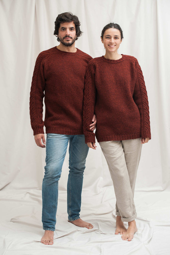 JANE & SERGE Red Sweater