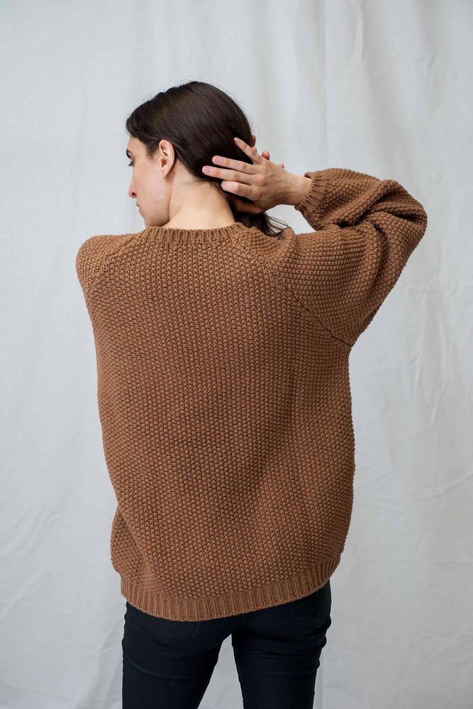 JULIETTE Camel Sweater
