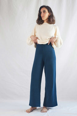 LOUISE Navy Blue Trousers