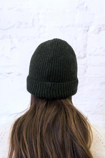 PAUL Dark Green Beanie