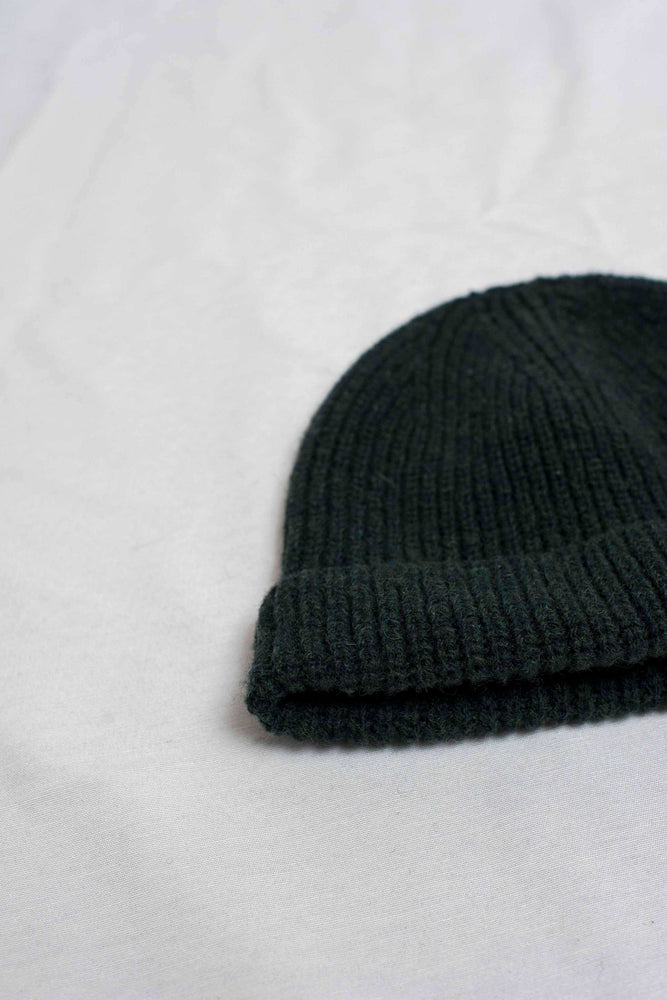 PAUL Dark Green Beanie / NEW