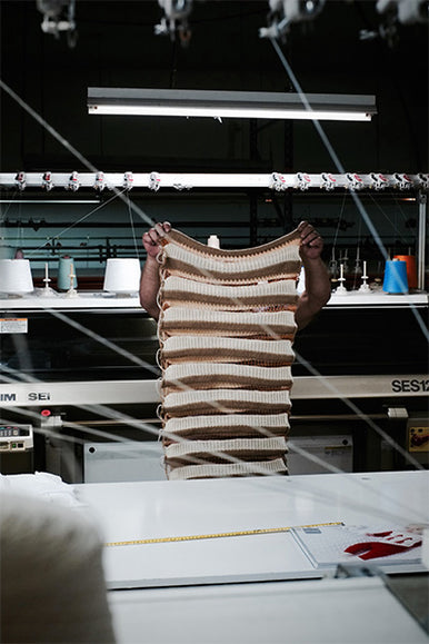 L'Envers - Sustainable Brand - Nuria's Atelier in Barcelona- Traditionally Assembled by hand