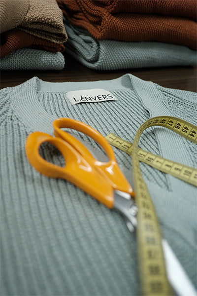 L'Envers - Made to Order Pieces in Organic Cotton and Natural Wool