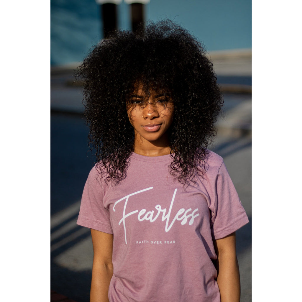 Limited Edition Mauve Fearless T-Shirt