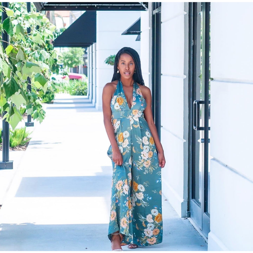 """Floral Galore"" Jumpsuit"