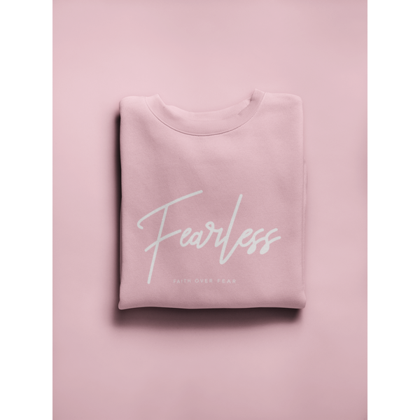 Pink Fearless Crew Neck Limited Edition