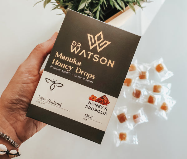 New Zealand Manuka Honey Lozenges for healthy and wellness