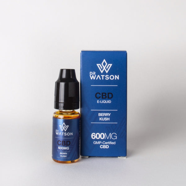 Berry Kush Cbd Eliquid GMP Certified for health and wellness 600mg with terpenes