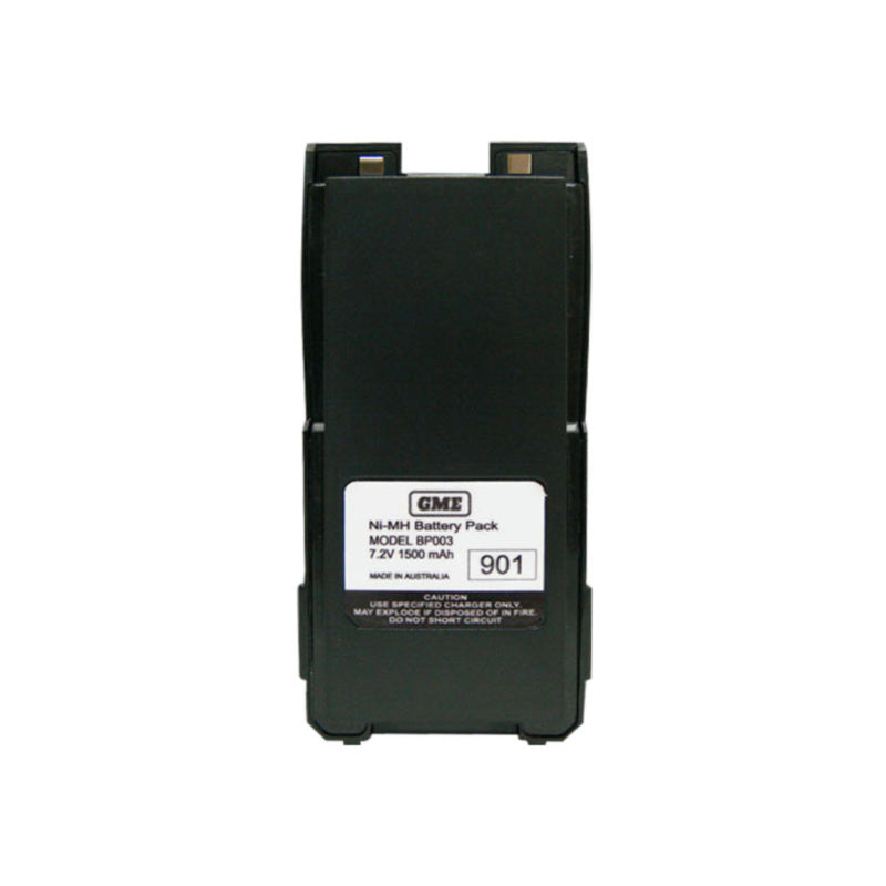 GME BP003 Battery Pack, 1500mAh NiMH, suits TX6200