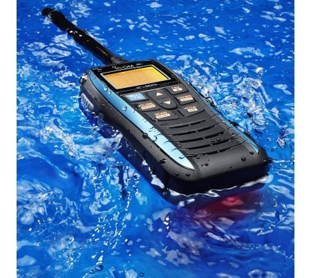 ICOM IC-M25EURO Waterproof IPX7 VHF 'Float'N Flash' USB Charging Marine Radio
