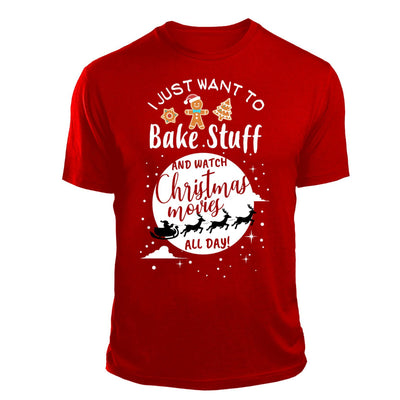Bake and watch christmas movies