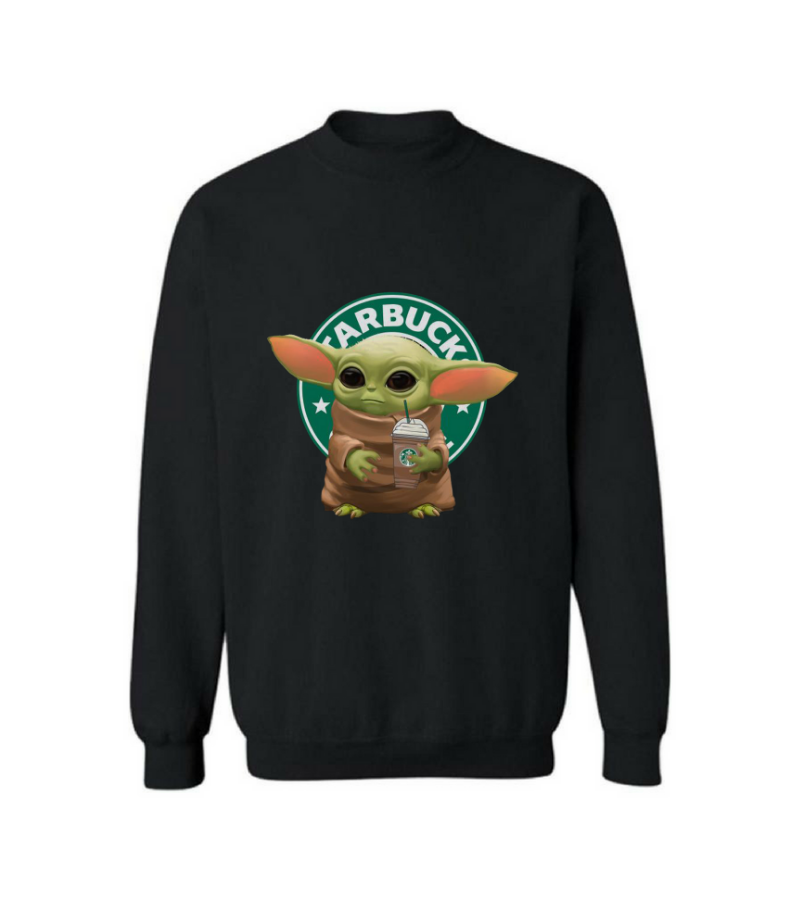 Baby Yoda Coffee Sweatshirt