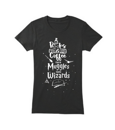 Books and coffee turn muggles into wizards