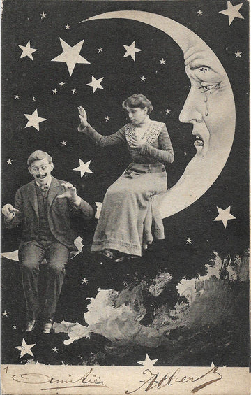 1900s Paper Moon Postcard no. 2