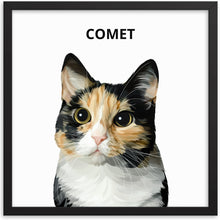 Load image into Gallery viewer, Custom Pet Portrait - Modern Illustration