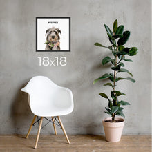 Load image into Gallery viewer, Custom Pet Portrait - Modern Illustration - Dawn Poets
